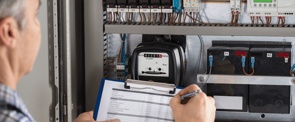 Taking an energy meter reading