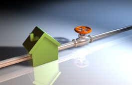 Branchement au gaz de ville d'une maison