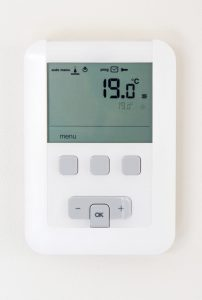Heating with gas is a competitive option as long as the thermostat is set properly.